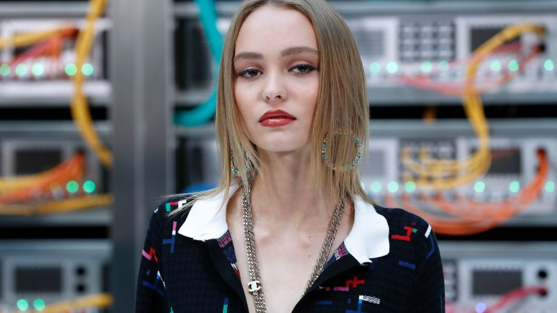 Lily-Rose Depp, Most popular celebs, model, actress (horizontal)