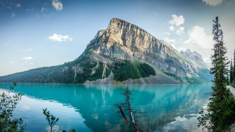Wallpaper Lake Louise 4k Hd Wallpaper Сanada Travel Mountain Nature 12772