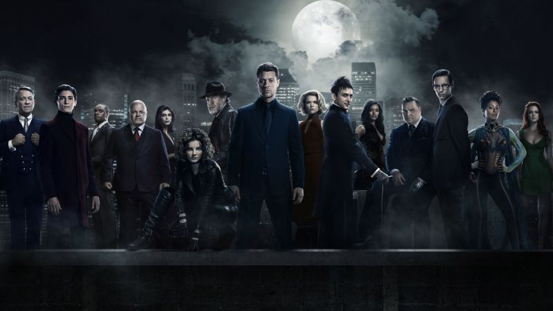 Gotham 3 season, Gotham, TV Series, crime (horizontal)