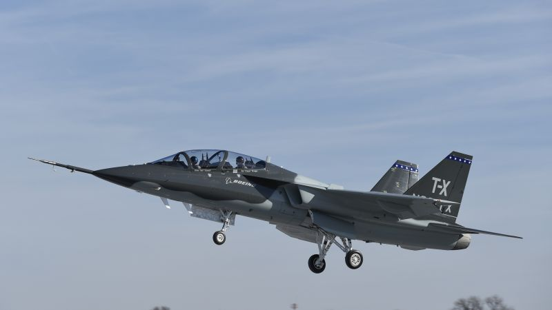 Boeing T-X, fighter aircraft, U.S. Air Force (horizontal)