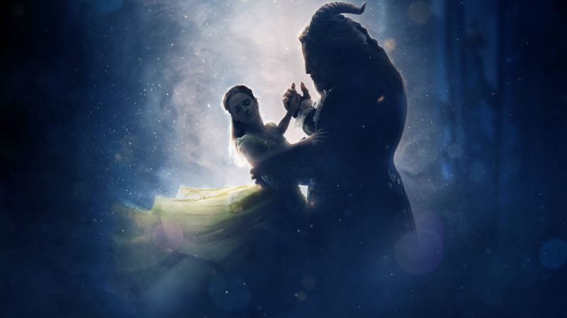 Beauty and the Beast, Emma Watson, Luke Evans, best movies (horizontal)