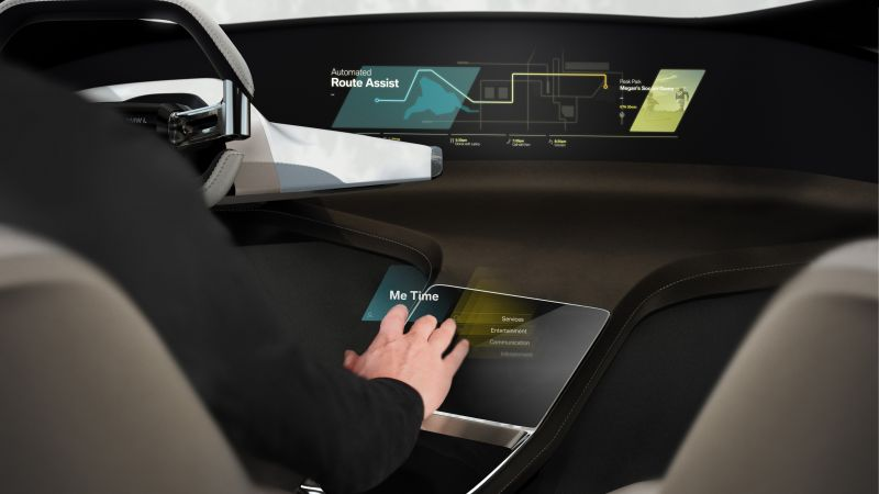 BMW Holoactive Touch, concept, CES 2017 (horizontal)