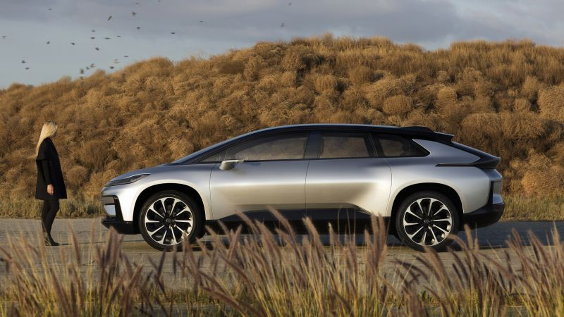 Faraday Future, FF91, electric cars (horizontal)