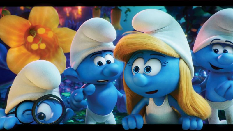 Smurfs: The Lost Village, Ariel Winter, Julia Roberts, best animation movies (horizontal)