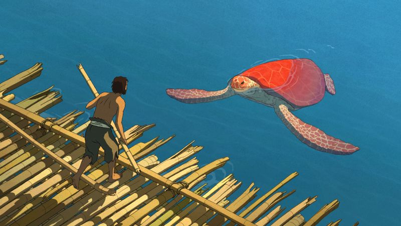 The Red Turtle, La tortue rouge, best animation movies (horizontal)
