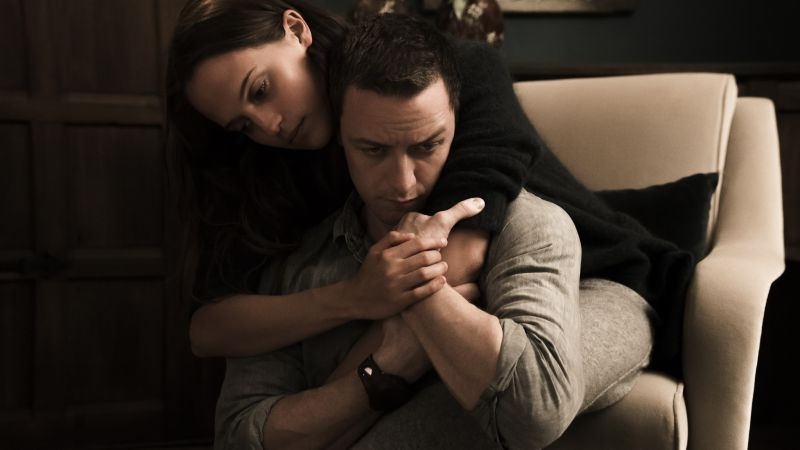 Submergence, James McAvoy, Alicia Vikander, best movies (horizontal)