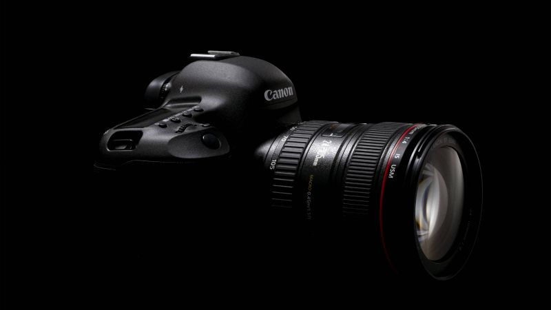 Canon EOS 5D Mark IV, review, CES 2017, 4k video, unboxing, lens (horizontal)