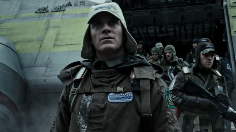 Alien: Covenant, Michael Fassbender, best movies (horizontal)