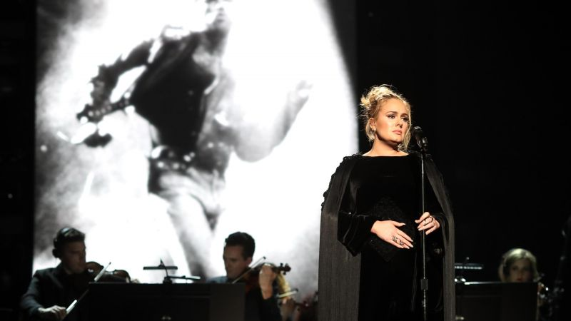 Adele, Grammy 2017, Grammy Awards, winner, dress (horizontal)