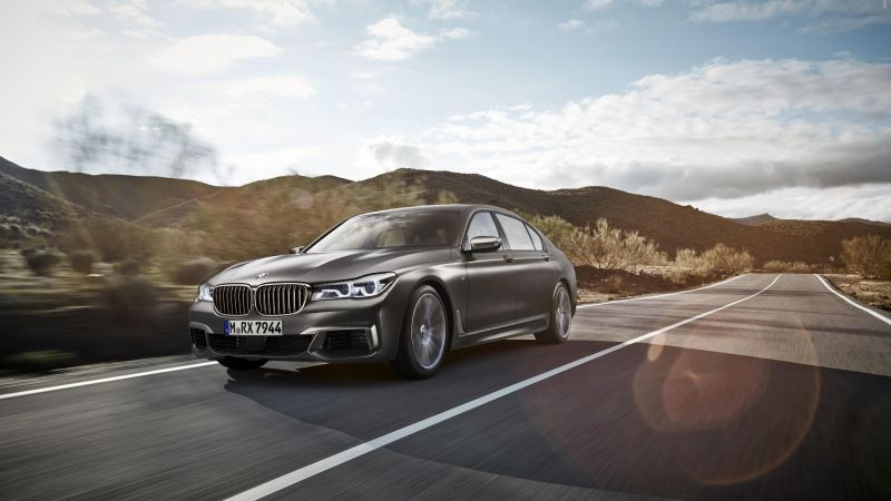 BMW M760Li xDrive, test drive (horizontal)