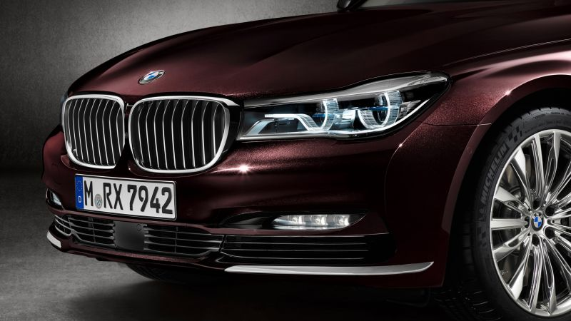 BMW M760Li xDrive, test drive, front (horizontal)