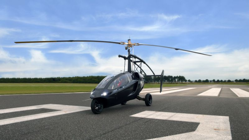Pal-v One, flying car, helicycle (horizontal)