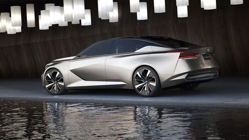Nissan Vmotion 2.0, concept, side (horizontal)