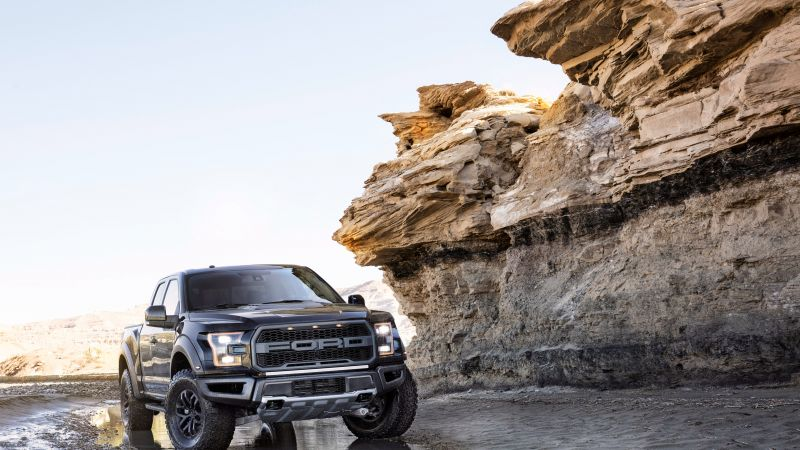 Ford F-150 Raptor, front, pickup, NAIAS 2017 (horizontal)