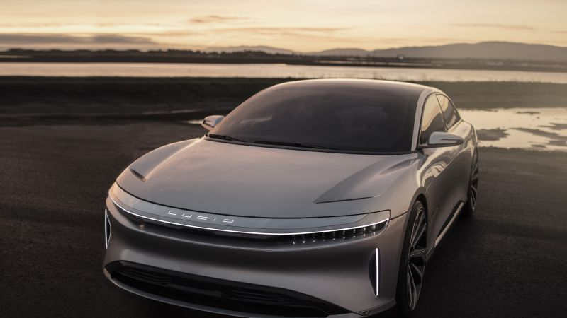 Lucid Air, electric cars, front (horizontal)