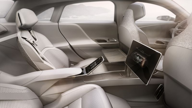 Lucid Air, electric cars, interior (horizontal)