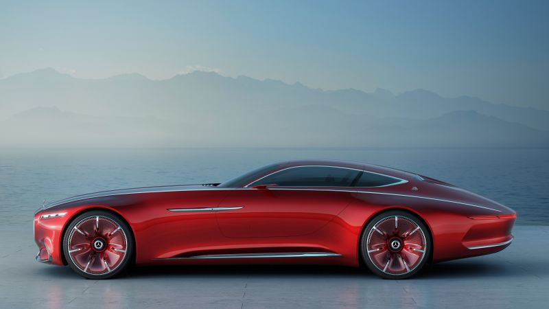 Mercedes-Maybach 6, coupe, concept, side (horizontal)
