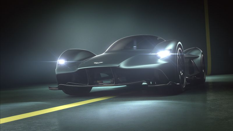Aston Martin Valkyrie, HD wallpaper, supercar, Geneva Auto Show 2017 (horizontal)