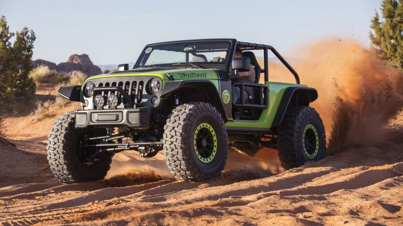 Jeep Wrangler Trailcat, NAIAS 2017, SUV (horizontal)