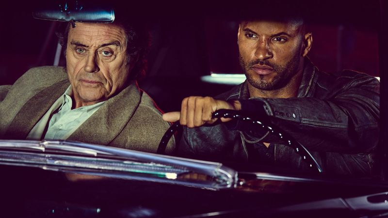 American Gods, Ian McShane, Ricky Whittle, best TV series (horizontal)