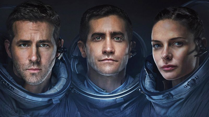 Life, Ryan Reynolds, Jake Gyllenhaal, Rebecca Ferguson, best movies (horizontal)