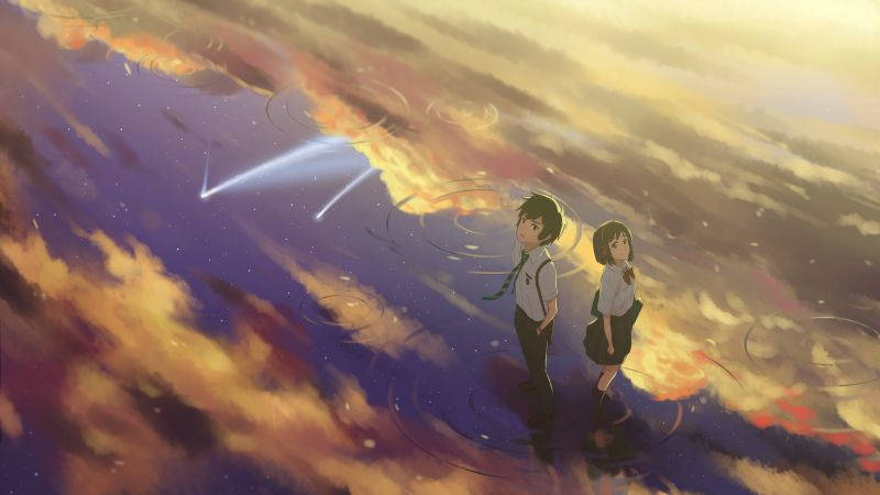 Your Name, anime, best animation movies (horizontal)