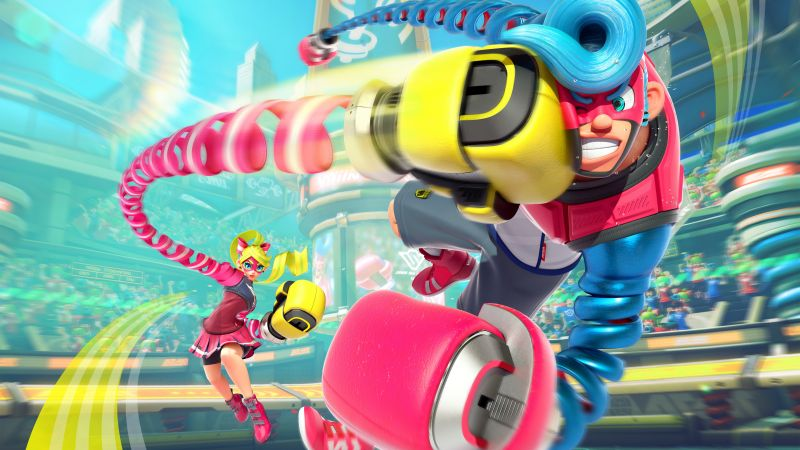 Arms, fighting, best games, Nintendo Switch (horizontal)
