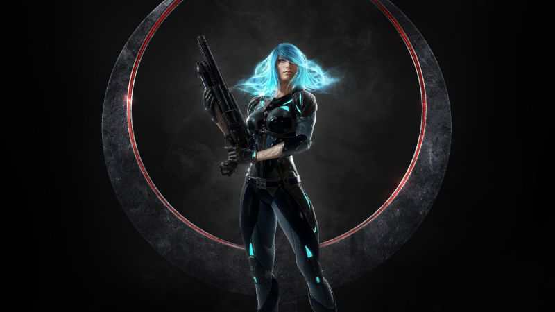 Quake Champions, shooter, Nyx, best games, pc (horizontal)