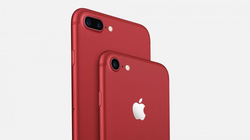 iPhone 7 Plus Red, iPhone Red, iPhone 7 Red, best smartphones, Apple Red (horizontal)