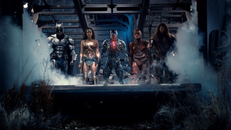 Justice League, Batman, Wonder Woman, Aquaman, Flash, Cyborg, DC Comics, best movies (horizontal)