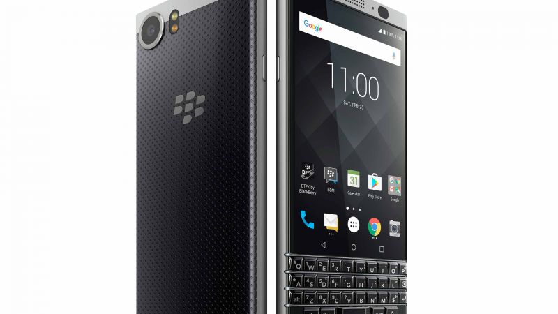 Blackberry KEYone, best smartphones, Blackberry Mercury, review (horizontal)