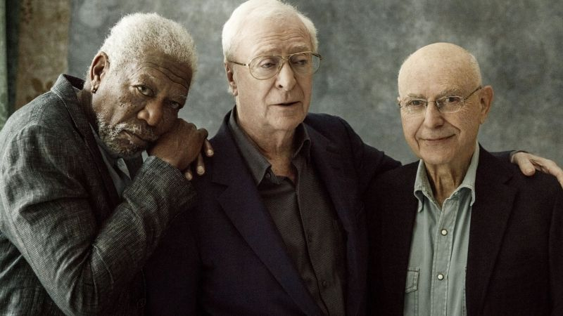 Going in Style, Morgan Freeman, Alan Arkin, Michael Caine, best movies (horizontal)