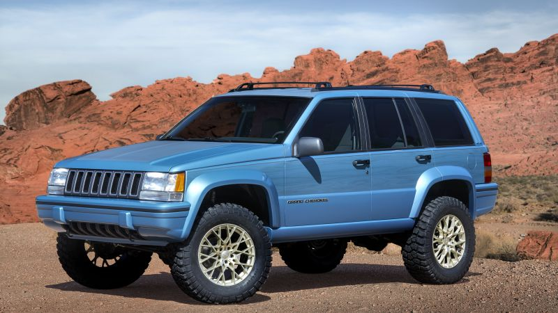 Jeep Grand One, SUV, concept (horizontal)