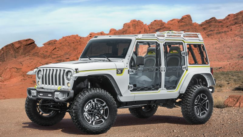 Jeep Safari, Jeep Wrangler, concept, SUV (horizontal)