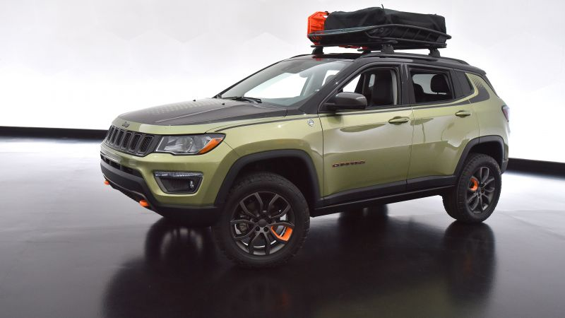 Jeep Trailpass, SUV, concept (horizontal)