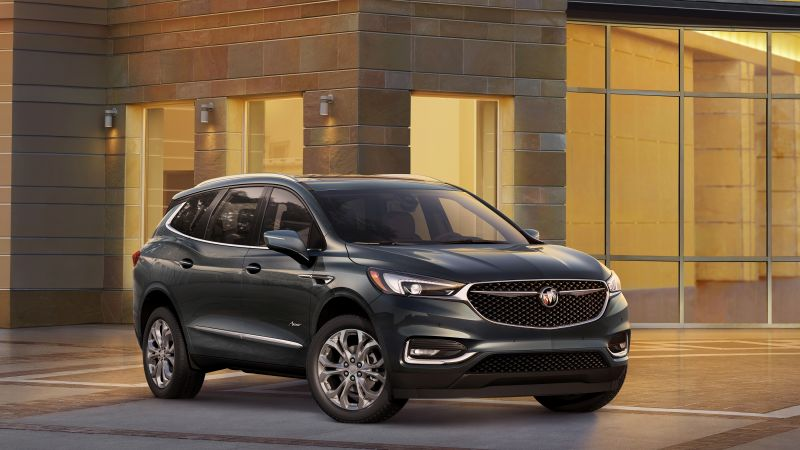 Buick Enclave, crossover, 2017 New York Auto Show (horizontal)