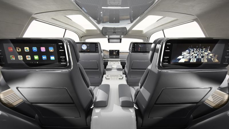 Lincoln Navigator, SUV, 2017 New York Auto Show, interior (horizontal)