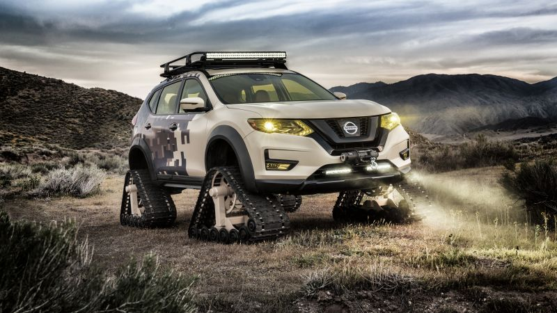 Nissan Rogue Warrior Trail, HD wallpaper, concept, SUV, 2017 New York Auto Show (horizontal)