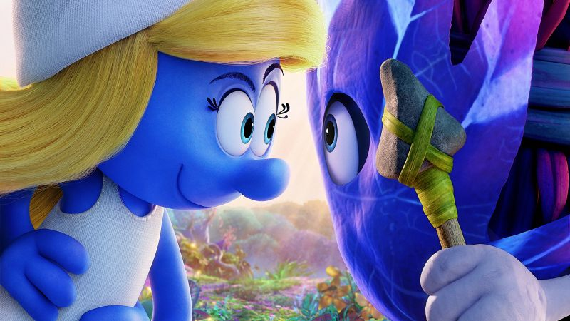 Smurfs: The Lost Village, Smurfette, best animation movies (horizontal)