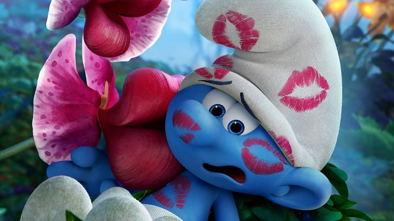 Smurfs: The Lost Village, Clumsy, best animation movies (horizontal)