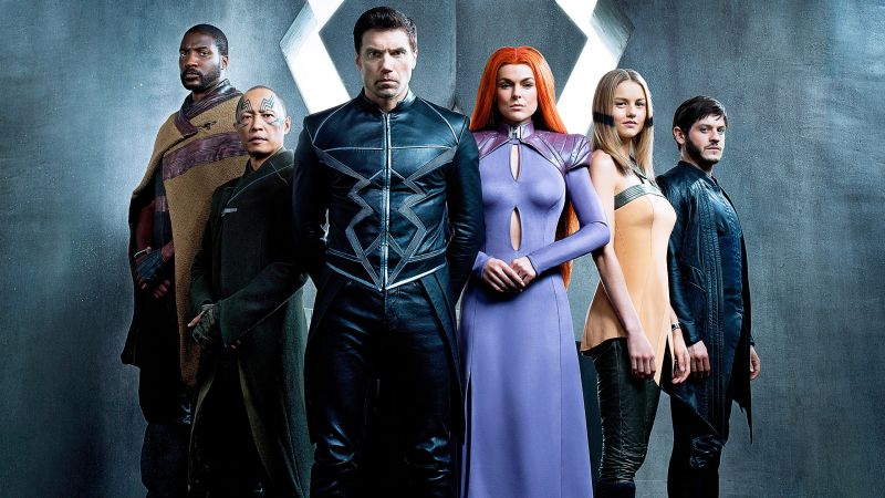 Inhumans, Black Bolt, Marvel, superhero, best tv series (horizontal)