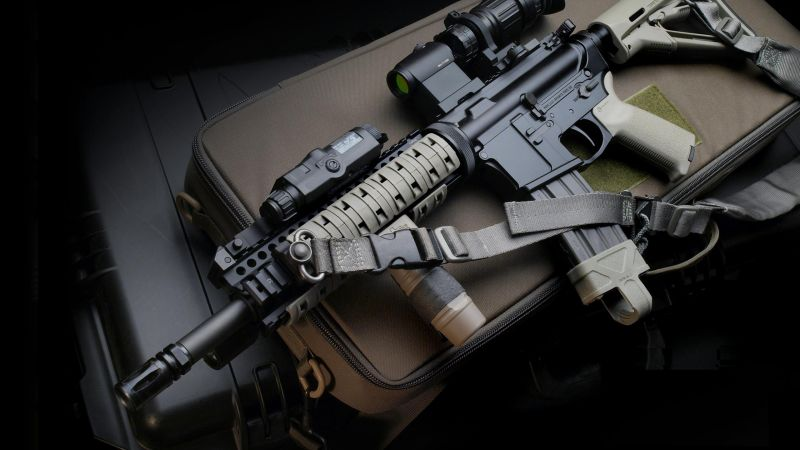 M4 Carbin, assault rifle (horizontal)