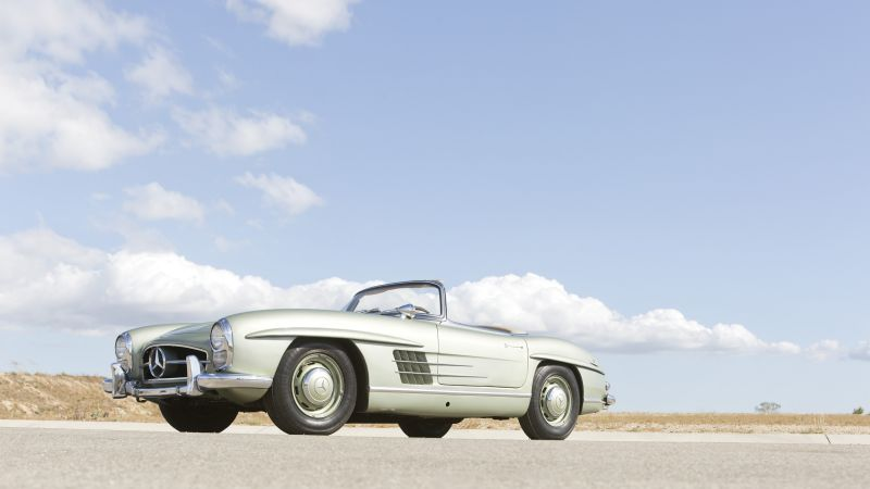 Mercedes Benz 300 SL, HD, 4k, Swiss Classic World (horizontal)