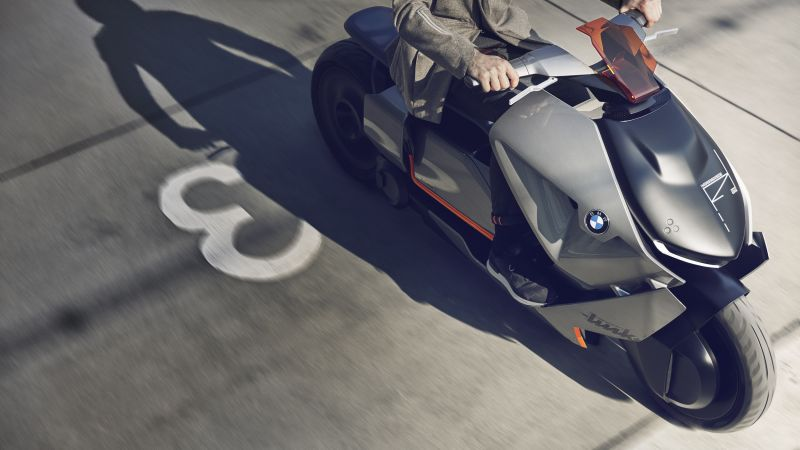 BMW Motorrad, Concept Link, Electric bike, HD, 4k (horizontal)