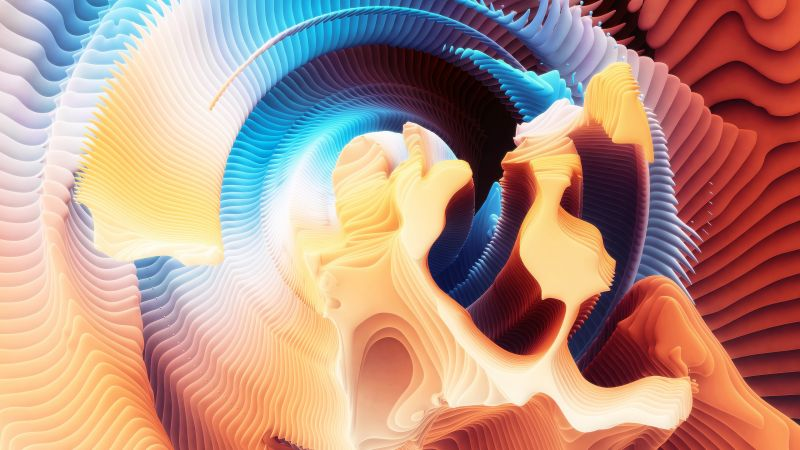 HD, Spirals, abstract (horizontal)