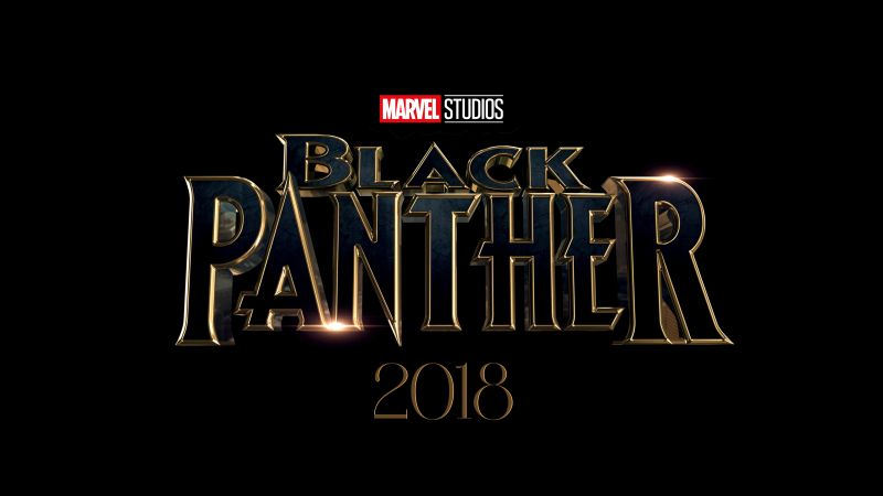Black Panther, 4k, 2018, poster (horizontal)