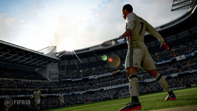 FIFA 18, 4k, screenshot, poster, E3 2017 (horizontal)