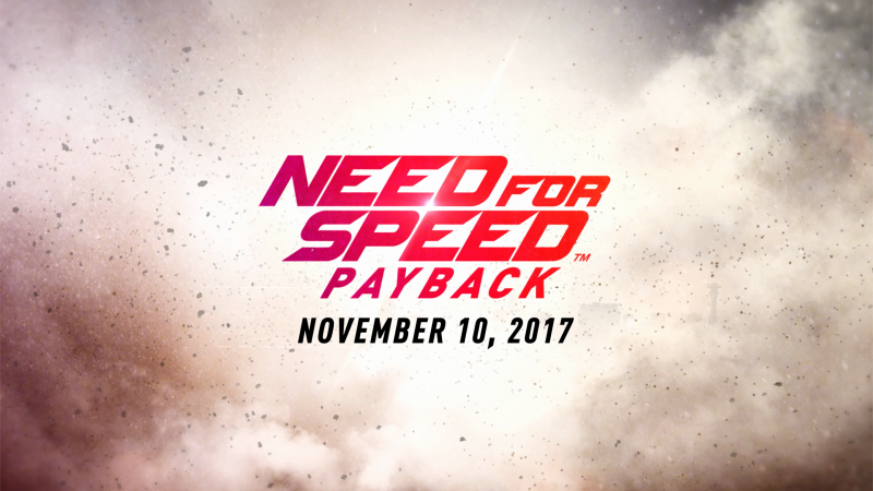 Need for Speed Playback, 4k, poster, E3 2017 (horizontal)