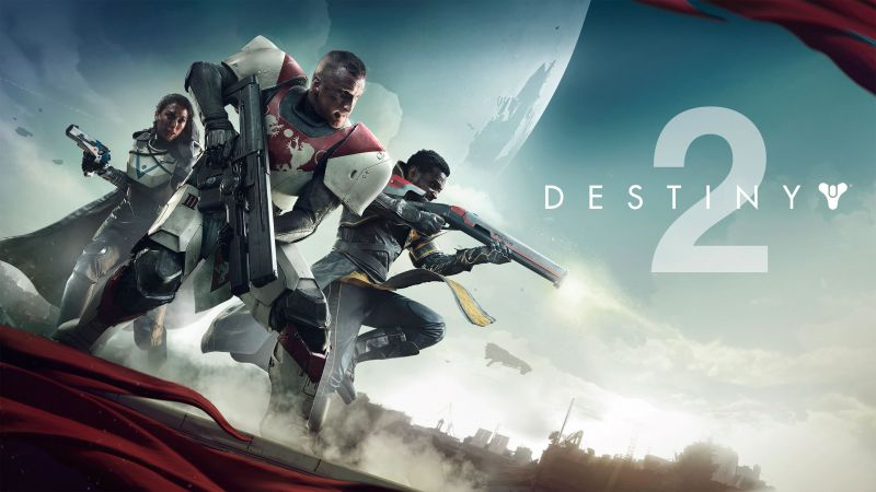 Destiny 2, 4k, poster, screenshot, E3 2017 (horizontal)