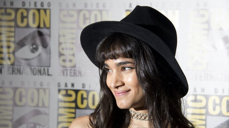 Sofia Boutella, 4k, photo, portrait (horizontal)